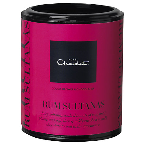 Buy Hotel Chocolat Rum Soaked Sultanas, 150g Online at johnlewis.com