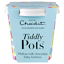 Buy Hotel Chocolat Milk Chocolate Tiddly Pot, 58g Online at johnlewis.com