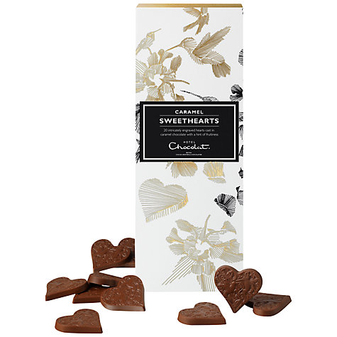 Buy Hotel Chocolat Caramel Sweethearts, 105g Online at johnlewis.com