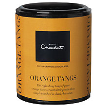 Buy Hotel Chocolat Dark Chocolate Orange Tangs, 150g Online at johnlewis.com