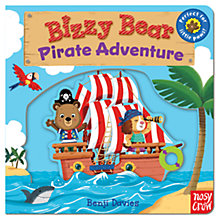 Buy Bizzy Bear Pirate Adventure Book Online at johnlewis.com