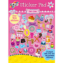 Buy Galt Girl Club Sticker Pad Online at johnlewis.com