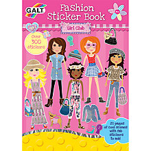 Buy Galt Fashion Sticker Book Online at johnlewis.com