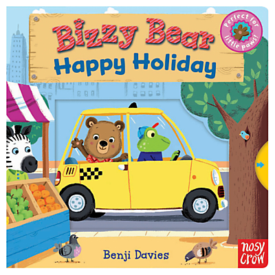 Bizzy Bear Happy Holiday Book