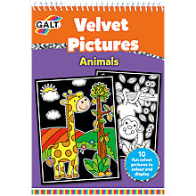 Buy Galt Velvet Pictures Animals Book Online at johnlewis.com