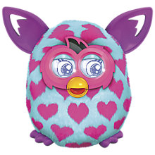 Buy Furby Boom, Pink Hearts Online at johnlewis.com