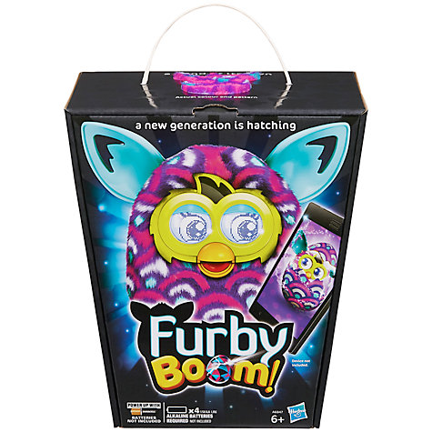 Buy Furby Boom, Purple Waves Online at johnlewis.com