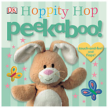 Buy Peekaboo Hoppity Hop Book Online at johnlewis.com
