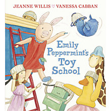 Buy Emily Peppermint's Toy School Book Online at johnlewis.com