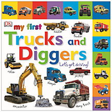 Buy DK My First Trucks and Diggers! Book Online at johnlewis.com
