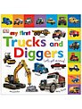 My First Trucks and Diggers! Book