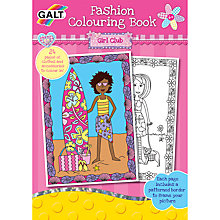 Buy Galt Fashion Colouring Book Online at johnlewis.com