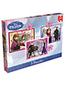 Disney Frozen Jigsaw Puzzles, Pack of 3