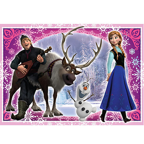Buy Disney Frozen Jigsaw Puzzles, Pack of 3 Online at johnlewis.com