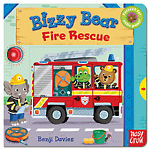 Buy Bizzy Bear Fire Rescue Book Online at johnlewis.com