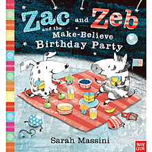 Buy Zac and Zeb and the Make-Believe Birthday Party Book Online at johnlewis.com