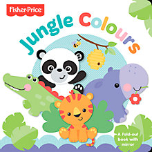 Buy Fisher-Price Jungle Colours Book Online at johnlewis.com