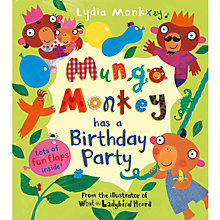 Buy Mungo Monkey Has A Birthday Party Book Online at johnlewis.com