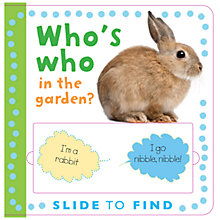 Buy Who's Who in the Garden? Book Online at johnlewis.com