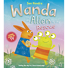 Buy Wanda and the Alien to the Rescue Book Online at johnlewis.com