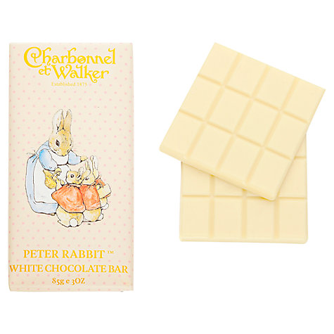 Buy Charbonnel et Walker Peter Rabbit White Chocolate Bar, 85g Online at johnlewis.com