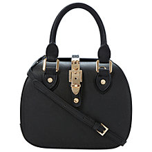 Buy Dune Dinidintage Buckle Bowling Bag, Black Online at johnlewis.com
