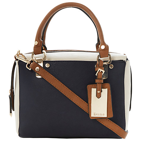 Buy Dune Dickle Boxy Shoulder Bag, Blue Online at johnlewis