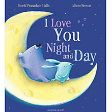 Buy I Love You Night and Day Book Online at johnlewis.com