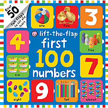 Buy First 100 Numbers Flap Book Online at johnlewis.com