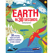 Buy Earth In 30 Seconds Book Online at johnlewis.com