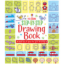 Buy The Usborne Step-by-Step Drawing Book Online at johnlewis.com