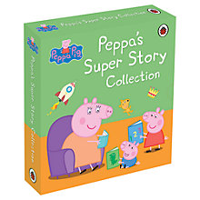Buy Peppa Pig's Super Story Collection, Pack of 5 Books Online at johnlewis.com