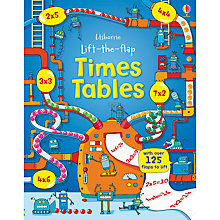 Buy Times Tables Flap Book Online at johnlewis.com