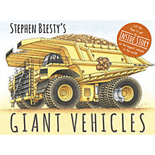 Buy Giant Vehicles Book Online at johnlewis.com
