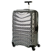 Buy Samsonite Firelite Cummersdale Print 4-Wheel Large Suitcase Online at johnlewis.com