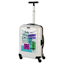 Buy Samsonite Firelite Birdcage Print 4-Wheel 55cm Cabin Suitcase Online at johnlewis.com
