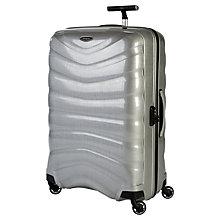 Buy Samsonite Firelite 4-Wheel 80cm Extra Large Suitcase Online at johnlewis.com