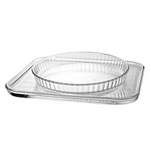 Buy Pyrex Baking Tray and Pie Dish Set Online at johnlewis.com
