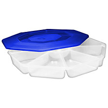 Buy John Lewis 8-Section Chip and Dip Container Online at johnlewis.com