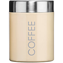 Buy Premier Housewares Enamel Coffee Canister Online at johnlewis.com