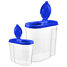 Buy John Lewis Cereal Storage Containers, Set of 2 Online at johnlewis.com