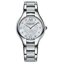Buy Raymond Weil R5132-ST00985 Women's Stainless Steel And Diamond Bracelet Watch Online at johnlewis.com