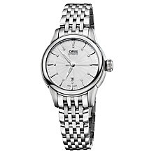 Buy Oris 56176874051MB Women's Artelier Stainless Steel Automatic Watch, Silver Online at johnlewis.com