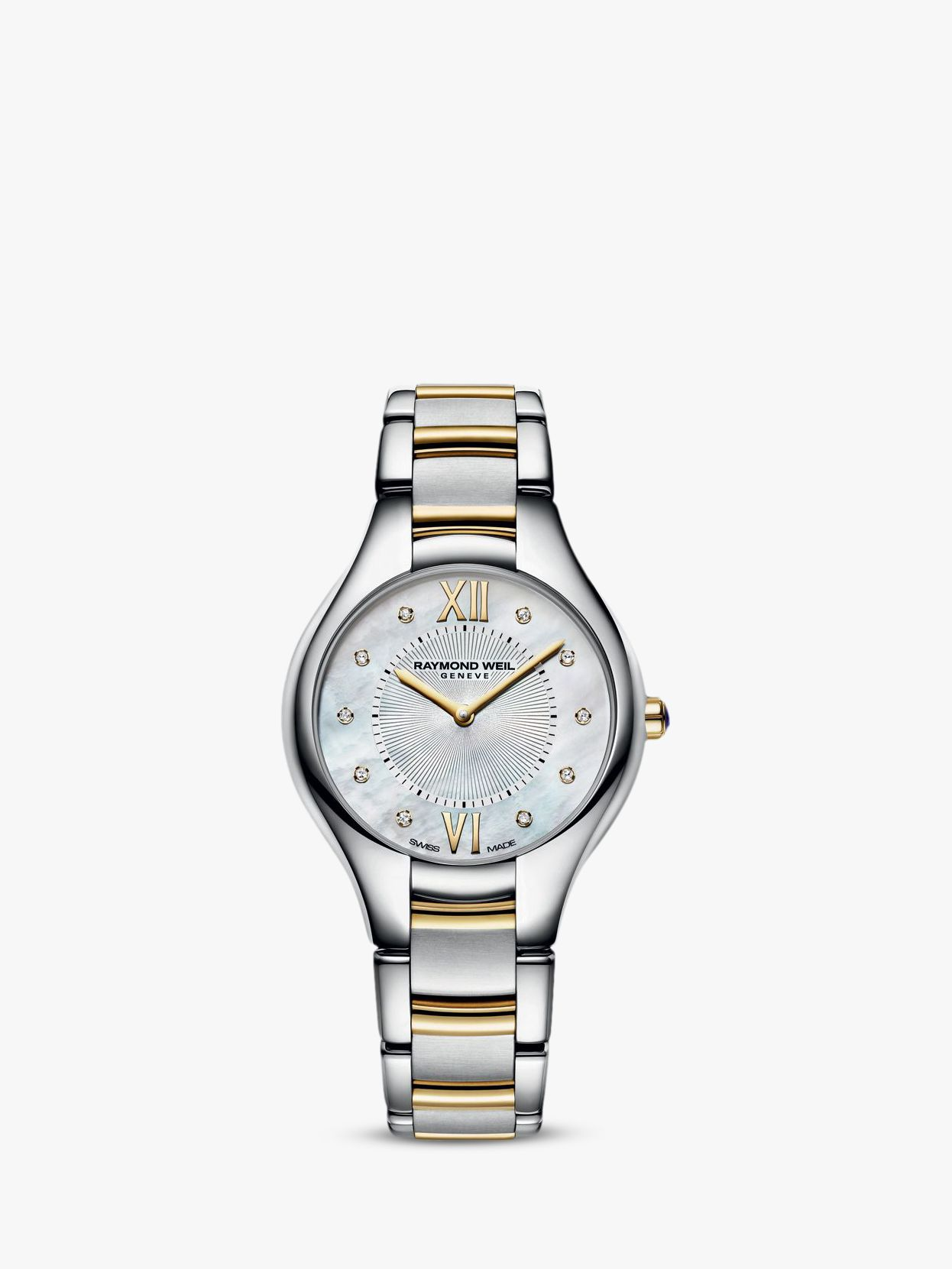 Raymond Weil Raymond Weil Women's Noemia Mother Of Pearl Stainless Steel Bracelet Strap Watch