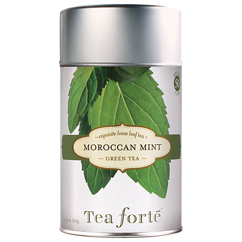 Buy Tea Forté Loose Leaf Moroccan Mint, 120g Online at johnlewis.com