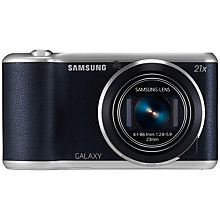 "Buy Samsung Galaxy Camera 2, HD 1080p, 21x Zoom, 16.3MP, Wi-Fi, GPS, 4.8"" Touch Screen with Memory Card Online at johnlewis.com"