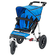 Buy Out 'N' About Nipper 360 Single V3 Pushchair, Lagoon Blue Online at johnlewis.com