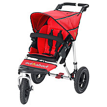 Buy Out 'N' About Nipper 360 Single V3 Pushchair, Carnival Red Online at johnlewis.com
