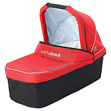 Buy Out 'N' About Nipper Single Carrycot, Carnival Red Online at johnlewis.com