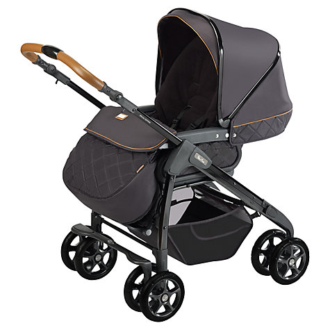 Buy Silver Cross Freeway Country Club Pram, Black Online at johnlewis.com